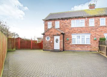 Thumbnail 3 bed semi-detached house for sale in Elizabeth Road, Fleckney, Leicester