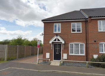 Thumbnail 3 bedroom end terrace house for sale in Prince William Way, Diss