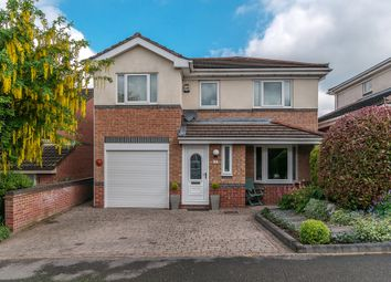 Thumbnail 4 bed detached house for sale in Healaugh Way, Chesterfield