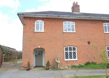Thumbnail 3 bedroom farmhouse to rent in Marlesford, Woodbridge