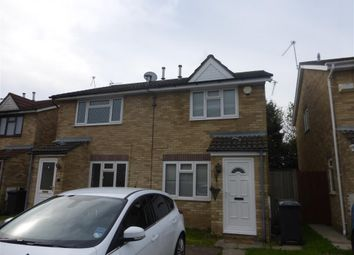 Thumbnail 2 bed semi-detached house to rent in Chartley Close, St. Mellons, Cardiff