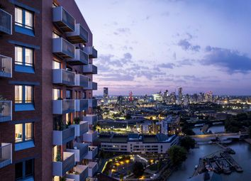 Thumbnail 3 bed flat for sale in Three Waters, London
