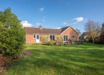 Thumbnail 3 bed detached bungalow for sale in The Green, Woolpit, Bury St. Edmunds