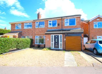 Thumbnail 3 bed semi-detached house for sale in Squirrels Corner, East Goscote, Leicester