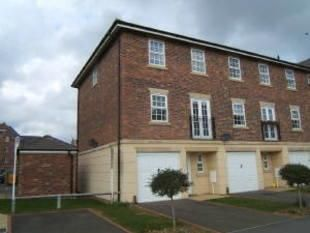 Thumbnail 4 bed town house for sale in Trenery Way, Southbridge, Northampton