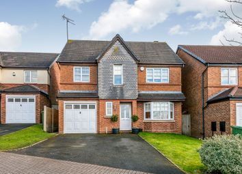 Thumbnail 4 bed detached house for sale in Brisbane Way, Heath Hayes, Cannock