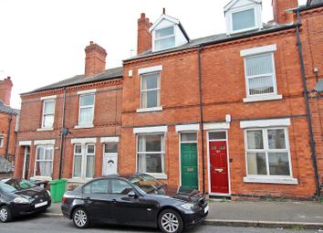 Thumbnail 3 bed terraced house for sale in Harcourt Road, Forest Fields, Nottingham