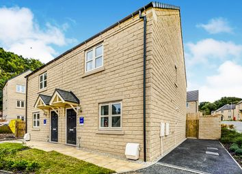 Thumbnail 3 bed semi-detached house for sale in Black Rock Drive, Linthwaite, Huddersfield, West Yorkshire