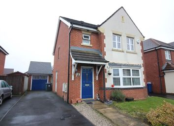 Thumbnail 3 bedroom detached house for sale in Silverdale Close, Bury