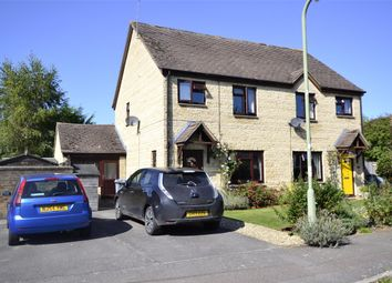 Thumbnail 4 bed semi-detached house for sale in Manor Road, Witney, Oxfordshire