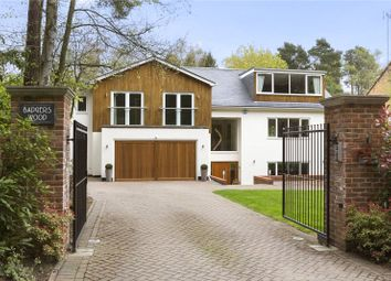 Thumbnail 5 bed detached house to rent in Heath Ride, Finchampstead, Wokingham, Berkshire