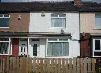 Thumbnail 3 bed terraced house to rent in Wilton Avenue, Redcar