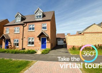 Thumbnail 4 bed town house for sale in Barrowfield Drive, Stamford