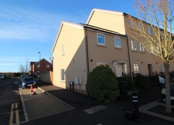 Thumbnail 3 bedroom end terrace house for sale in Wood Mead, Cheswick Village, Bristol