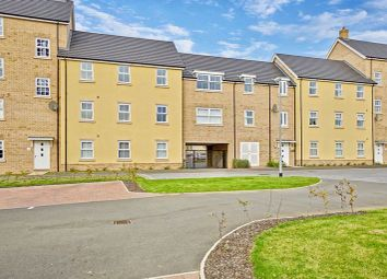 Thumbnail 2 bed flat for sale in Delphinium Court, Eynesbury, St. Neots