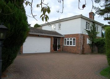 Thumbnail 4 bed detached house to rent in Freemans Close, Stoke Poges