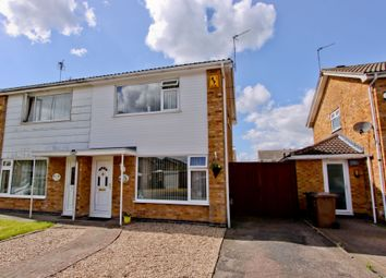 Thumbnail 3 bed semi-detached house for sale in Montague Avenue, Syston
