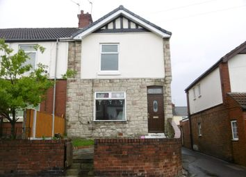 Thumbnail 2 bed end terrace house for sale in 33 Manor Road, Askern, Doncaster