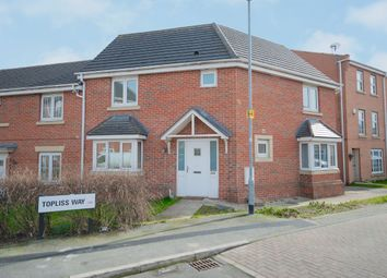 Thumbnail 3 bed semi-detached house for sale in Topliss Way, Leeds