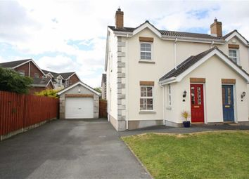Thumbnail 3 bed semi-detached house for sale in Chestnut Meadows, Ballynahinch, Down