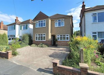Thumbnail 4 bed detached house for sale in Hollies Avenue, West Byfleet