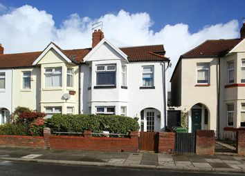 Thumbnail 4 bed end terrace house for sale in Brunswick Street, Canton, Cardiff