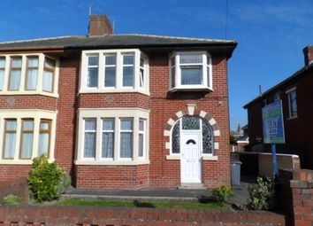 Thumbnail 3 bedroom semi-detached house to rent in Bentinck Avenue, Blackpool