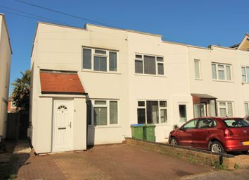 Thumbnail 2 bed end terrace house for sale in First Avenue, West Molesey
