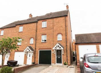 Thumbnail 3 bed end terrace house for sale in Whitney Close, Raunds, Wellingborough