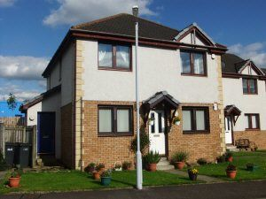 Thumbnail 2 bed flat to rent in Ladysmill Court Dunfermline, Fife