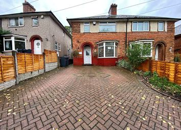 Thumbnail 3 bed semi-detached house for sale in Blakesley Road, Yardley, Birmingham