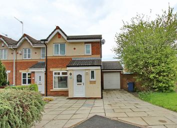 Thumbnail 3 bedroom end terrace house for sale in Brightwater Close, Whitefield, Manchester