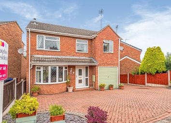 Thumbnail 4 bed detached house for sale in Ashleigh Drive, Uttoxeter