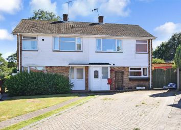 Thumbnail 3 bedroom semi-detached house for sale in Fox Way, Barham, Canterbury, Kent