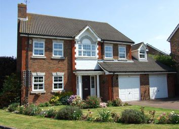 Thumbnail 5 bed detached house for sale in Oldbury Close, Horsham