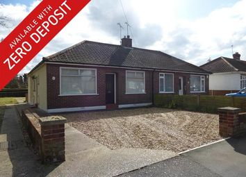Thumbnail 3 bed bungalow to rent in Spinney Road, Thorpe St. Andrew, Norwich