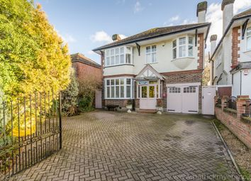 Thumbnail 4 bed detached house for sale in Grove Park Road, London, London
