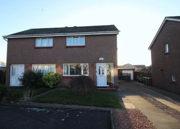 Thumbnail 2 bed semi-detached house for sale in Carradale Gardens, Kirkcaldy
