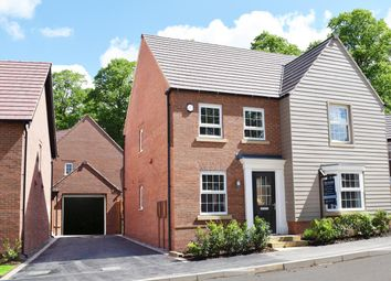 """Thumbnail 4 bed detached house for sale in """"Holden"""" at Welbeck Avenue, Burbage, Hinckley"""