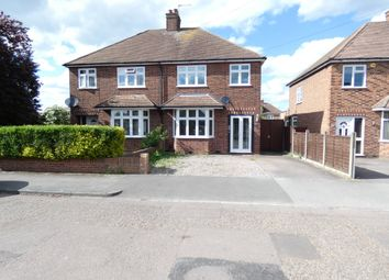 Thumbnail 3 bed semi-detached house to rent in Highfield Road, Kempston, Bedford