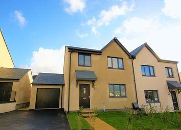 Thumbnail 4 bed semi-detached house to rent in Oak View Road, Wadebridge