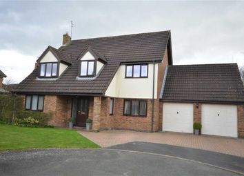 Thumbnail 4 bed detached house for sale in Cobham Close, Ashdale Park, Stone