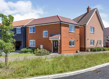 Thumbnail 3 bed semi-detached house for sale in Attleborough, Norfolk