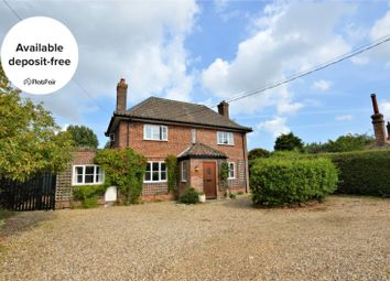 Thumbnail 4 bed detached house to rent in The Street, Baconsthorpe, Holt