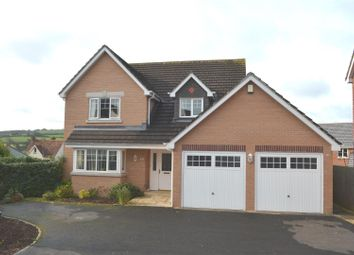 Thumbnail 4 bed detached house for sale in Cherry Tree Drive, Landkey, Barnstaple