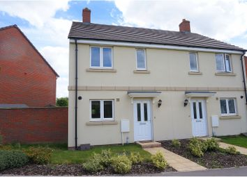 Thumbnail 2 bed semi-detached house to rent in Sherbourne Drive, Salisbury