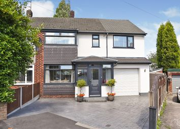 Thumbnail 4 bed semi-detached house for sale in Thompson Close, Denton