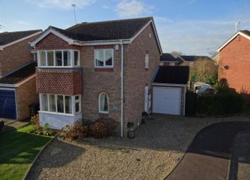 Thumbnail 4 bedroom detached house for sale in Hereford Close, Sleaford