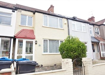 Thumbnail 3 bed terraced house to rent in Abbotts Road, Mitcham