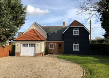 Thumbnail 4 bed detached house to rent in Great Waldingfield, Sudbury, Suffolk
